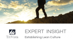 Download: EXPERT INSIGHT – Establishing Lean Culture
