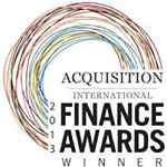 2013 Finance Awards Winner
